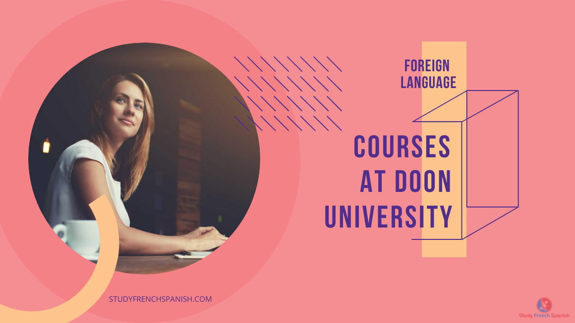 Doon university foreign language course